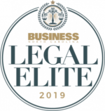 2019 Business North Carolina Legal Elite Badge